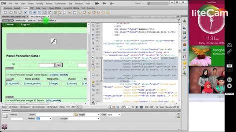 Membuat Halaman Admin Web Dengan Php | projek web cara membuat data produk pada halaman admin web