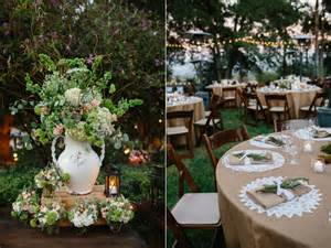 decorating your outdoor wedding and reception with