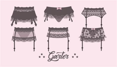 garter templates white garter free vector 10817 free downloads