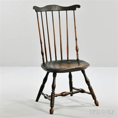 fan back windsor chair fan back windsor side chair sale number 2838m lot