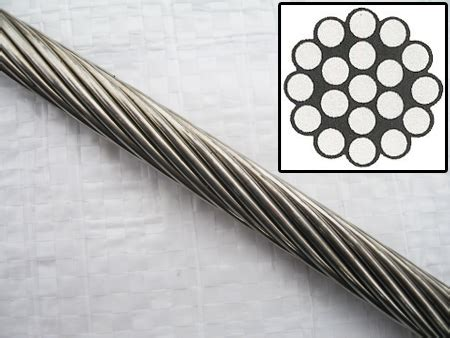 1 X 19 Stainless Steel Cable by 19mm 1 X 19 316 Stainless Steel Wire Rope Cable