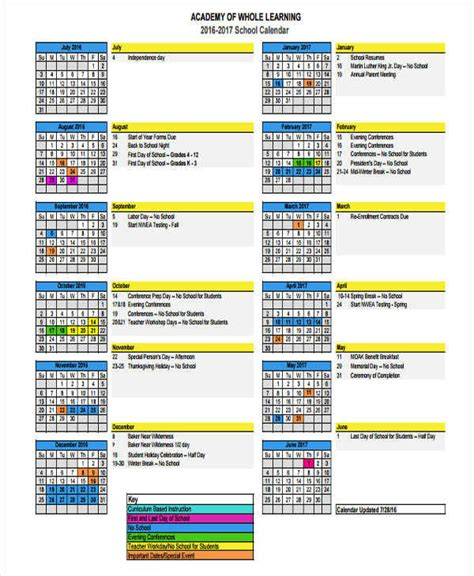 events schedule template 9 event calendar templates