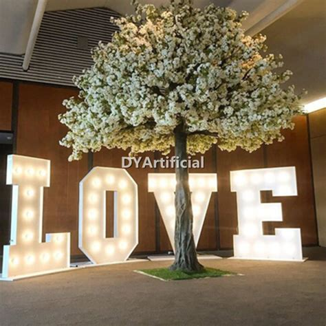 4m Large White Artificial Wedding Tree for Church   Dongyi