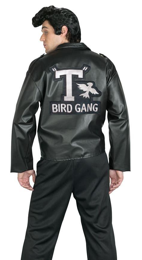 mens t bird grease jacket c937fw t birds jacket 1950 mens 50s black grease