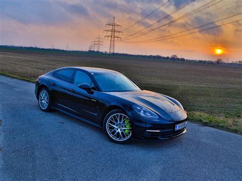 Porsche Panamera Hybrid Test by Testbericht Porsche Panamera 4 E Hybrid Auto Motor At