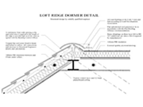 Flat Roof Dormer Construction Details Roof Detail Drawings