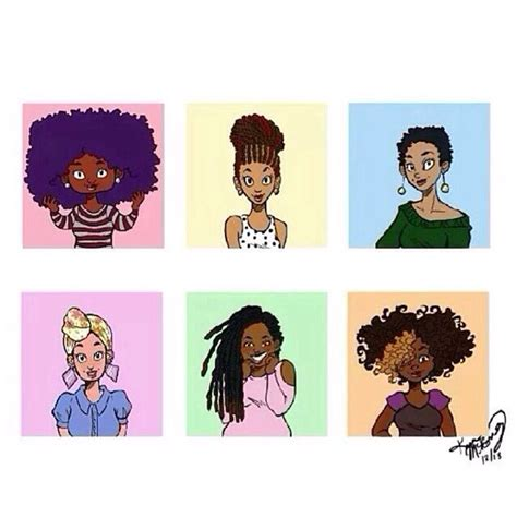 natural hairstyles cartoon 250 best images about natural hair cartoon on pinterest