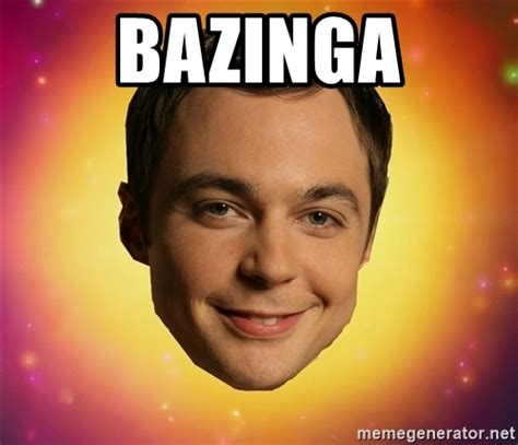 Bazinga Meme - bazinga sheldon big bang theory meme generator