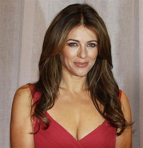 best hair color for late 40 woman elizabeth hurley s beauty secrets for women over 40 for