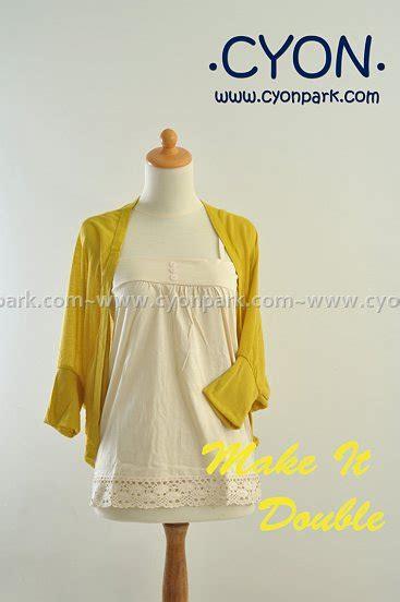 Fashion White Inner Tank Top Baju Kaos Dalam Putih Wanita 1 make it butik shop tas pesta belt wanita