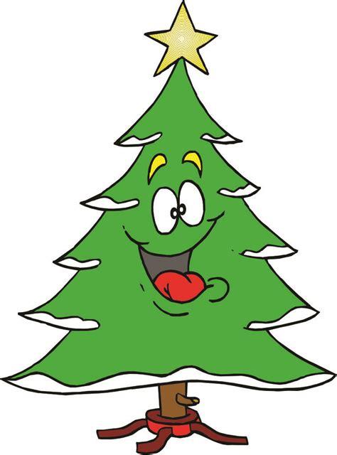 christmas tree cartoon images clipart
