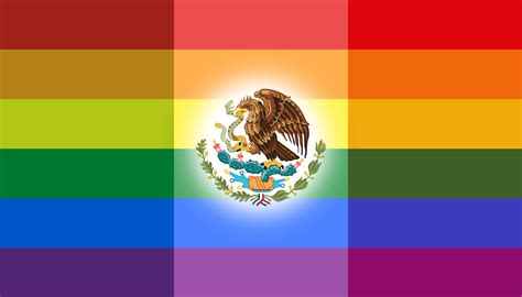 the new mexican flag mexicans sign petition for rainbow flag
