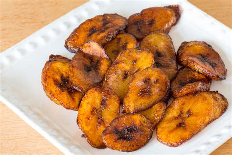 how to make fried ripe plantains recipe