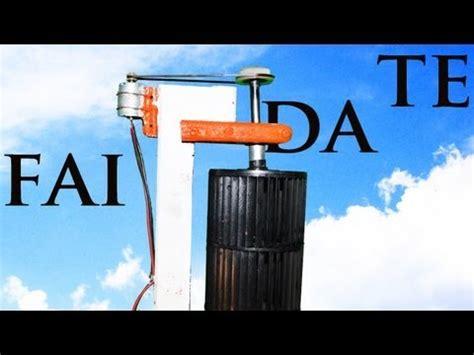 eolico per casa turbina eolica verticale fai da te