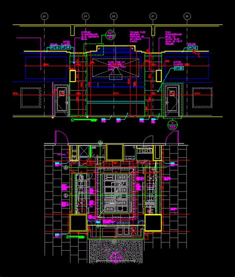 display kitchen design dwg detail  autocad designs cad
