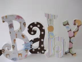 Decorating Wooden Letters For Nursery Baby Letters Wood Letters Nursery Letters Nursery Decor Home