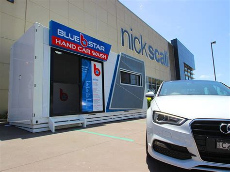 Car Wash Port Melbourne by Blue Car Wash Container Office Special Projects