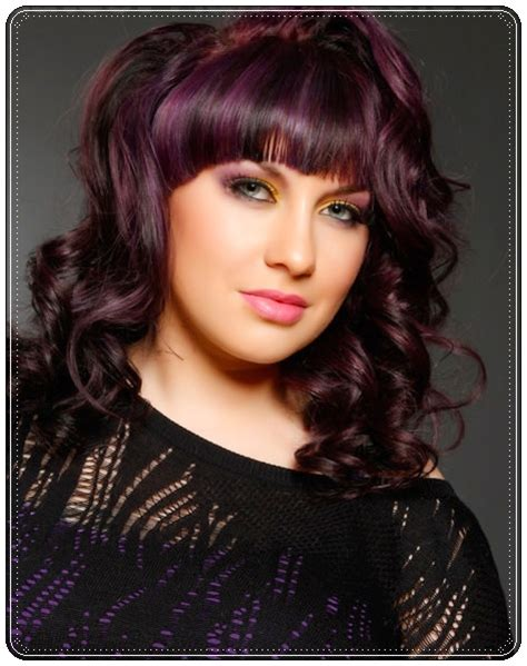 brunette hairstyles with purple highlights hairstyles 2014 5 flattering dark hair with highlights
