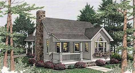 house plan thursday sweet cottage artfoodhome com cottage house plan with 1 bedroom and 1 5 baths plan