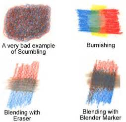 how to blend colored pencils blending techniques for colored pencils wetcanvas