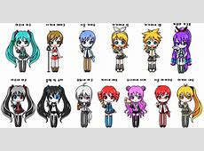 vocaloids by tyrblue on DeviantArt Vocaloid Names List