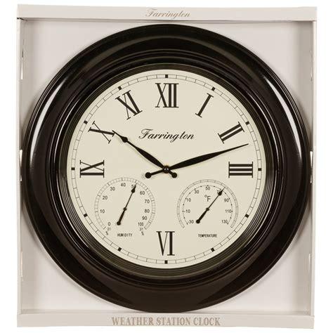 weather station clock home decor bm stores