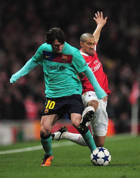 arsenal vs barcelona lionel messi photos arsenal v barcelona uefa chions