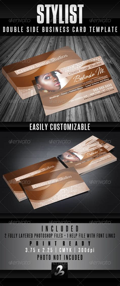 fashion stylist business card templates stylist business card templates by creativb graphicriver