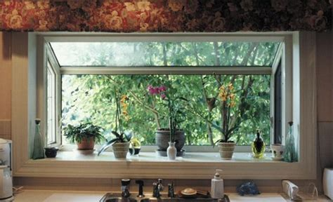 kitchen window garden window garden
