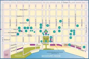 New Orleans French Quarter Tourist Map by Self Guided French Quarter Walking Map Nola Stuff To Do