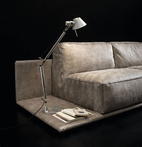Nubuck Leather Sofa by Nubuck Leather Modern Sofa Guides