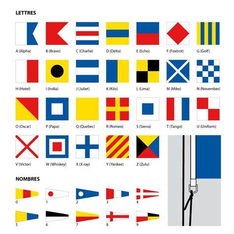 dessin bateau marine nationale drapeau code marine pavillon de signalisation maritime
