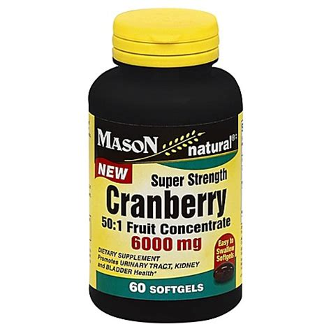 bed bath and beyond cranberry buy mason natural 174 super strength cranberry 60 count