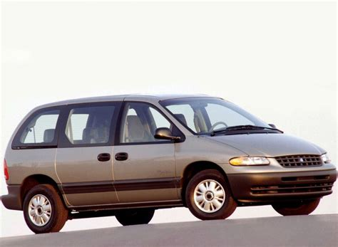 plymouth voyager technical specifications and fuel economy