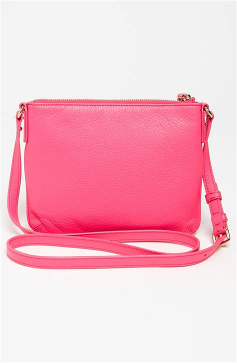 Kate Spade Pink kate spade cobble hill tenley crossbody bag small in pink pink lyst