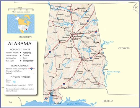us map alabama state alabama state on us map afputra