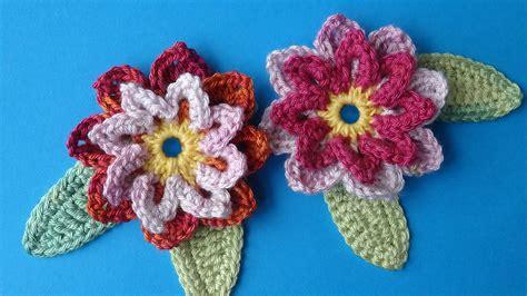 crochet pattern flower youtube crochet flower 72 free crochet flower pattern youtube