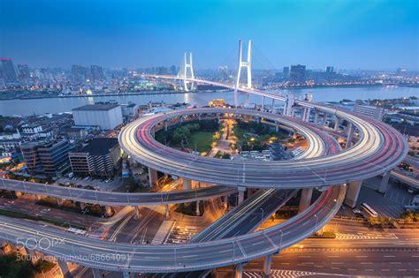 shanghai nanpu bridge by zhou zhongqiang 500px