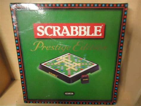 scrabble prestige scrabble prestige edition complete ebay