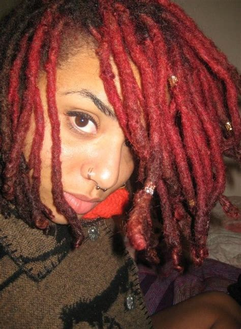 colored dreads dreadlocks hair color