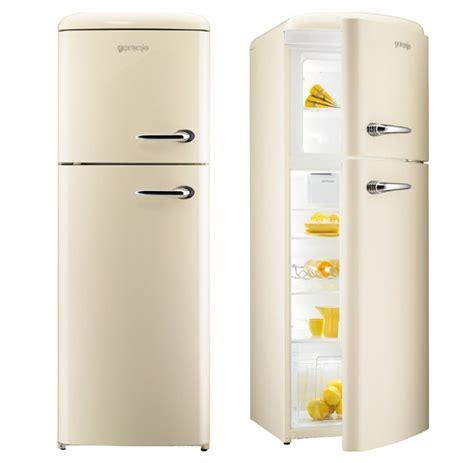 Microwave In Kitchen Island gorenje rf60309 free standing retro fridge freezer