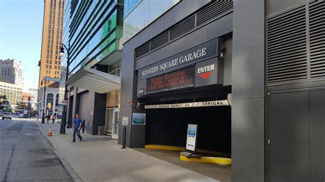 2 Detroit Parking Garage by Kennedy Square Garage Parking In Detroit Parkme