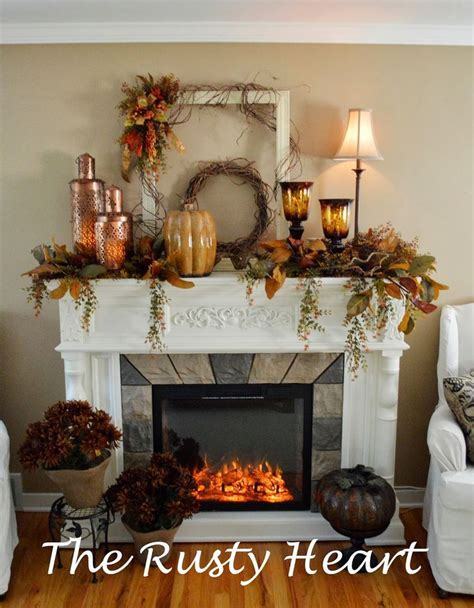 fall fireplace decor 1975 best images about decorating for fall on