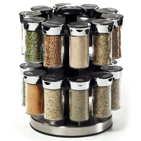Rotating Spice Rack Kamenstein 20 Jar Rotating Spice Rack 037531027121 99 99