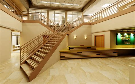 Lobby Stairs Design Stair Railing Designs Interior Studio Design Gallery Best Design