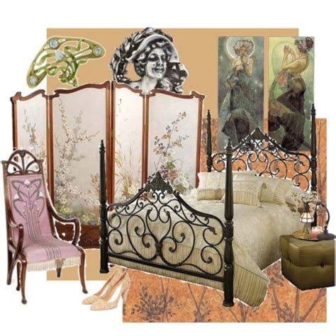 art nouveau bedroom art nouveau bedroom inspiration my style pinterest