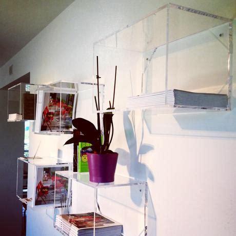 mensole trasparenti lavorazione plexiglass roma mensole e cubi trasparenti su