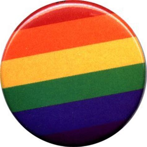 amazon com gay pride rainbow 1 1 2 quot button pin