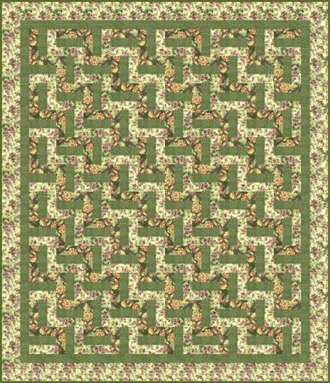 Fence Rail Quilt Pattern by Creation And Compassion Rail Fence