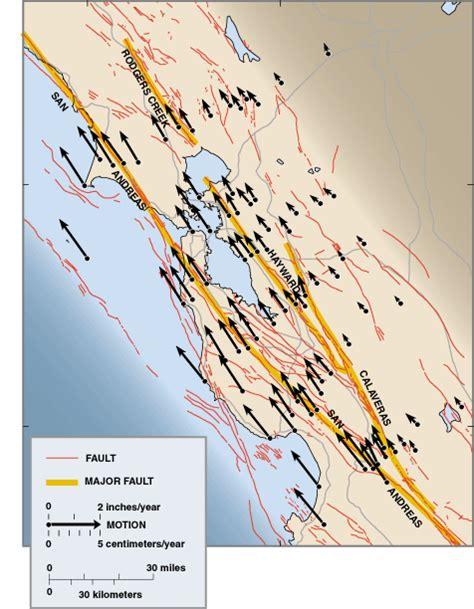 san francisco fault map progress toward a safer future since the 1989 loma prieta